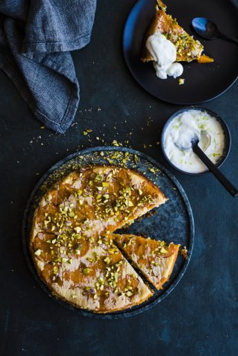 Apricot and Lime Olive Oil Cake