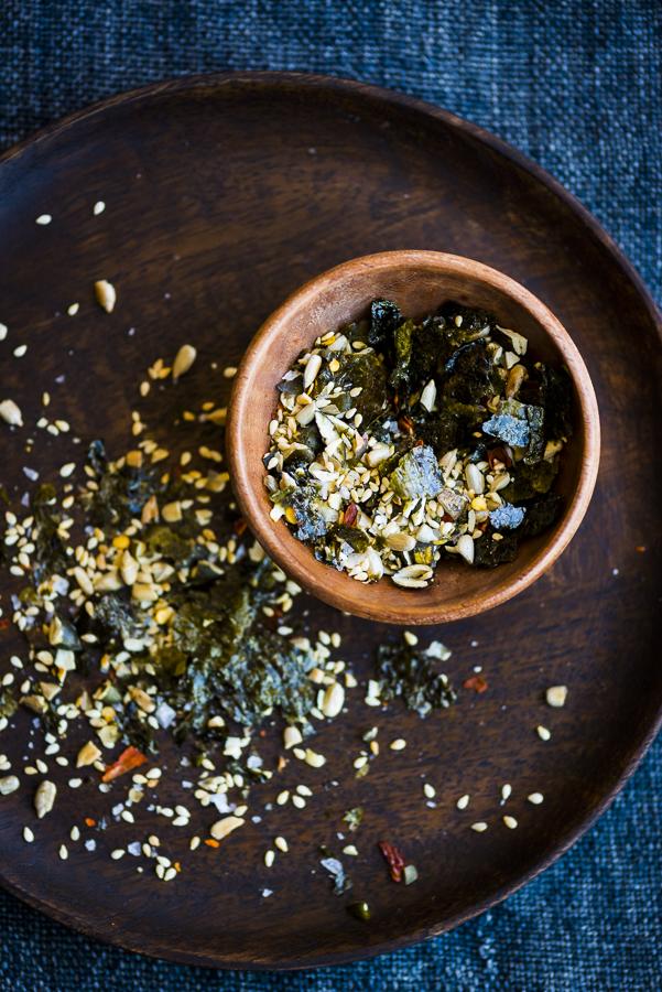Roasted Broccoli with Nori Salt