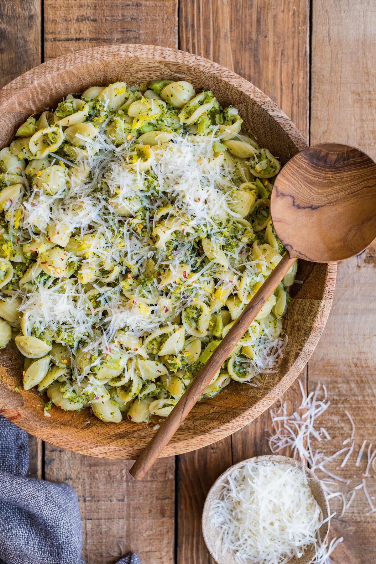 Orecchiette with Broccoli Sauce