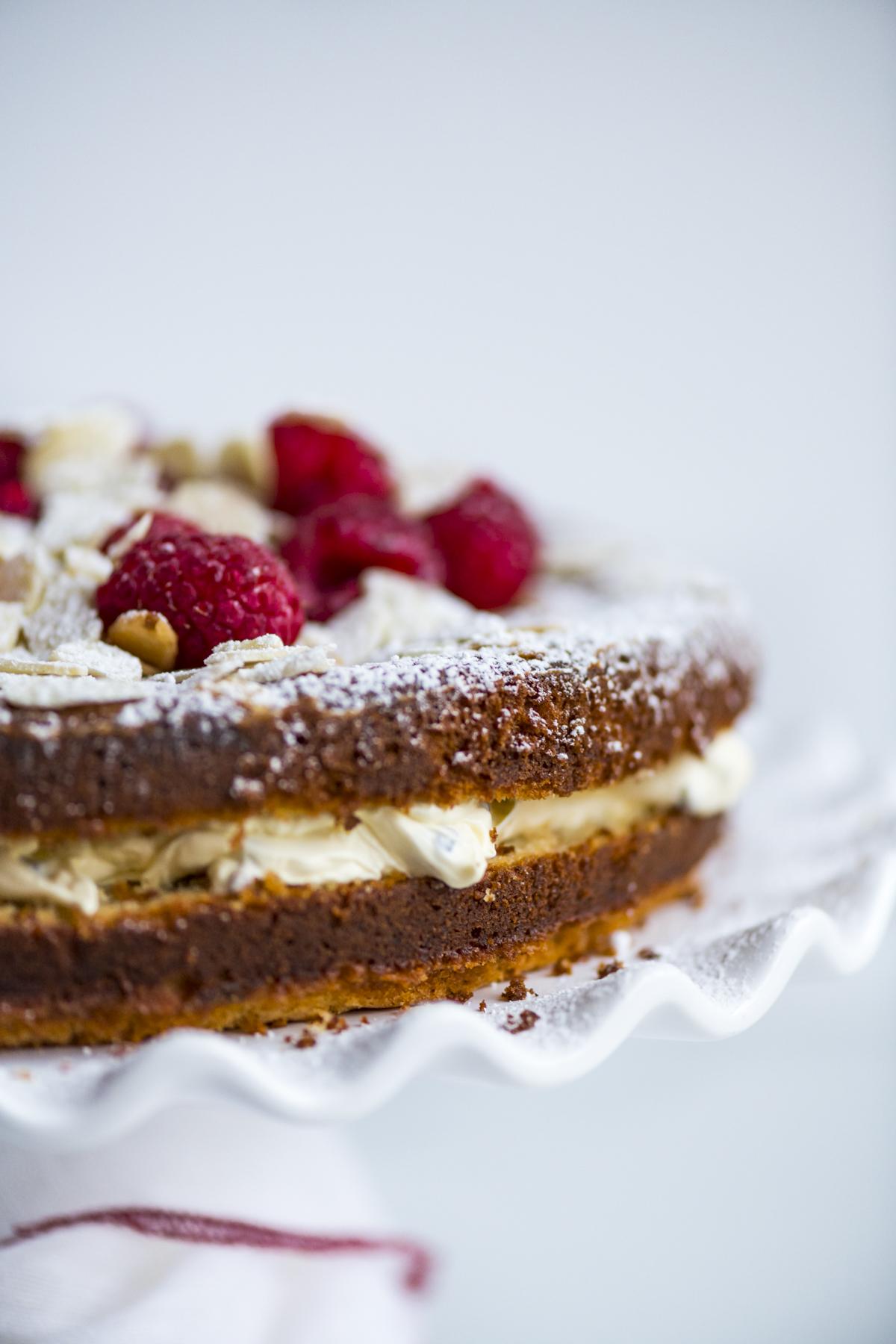 Raspberry Yoghurt Cake