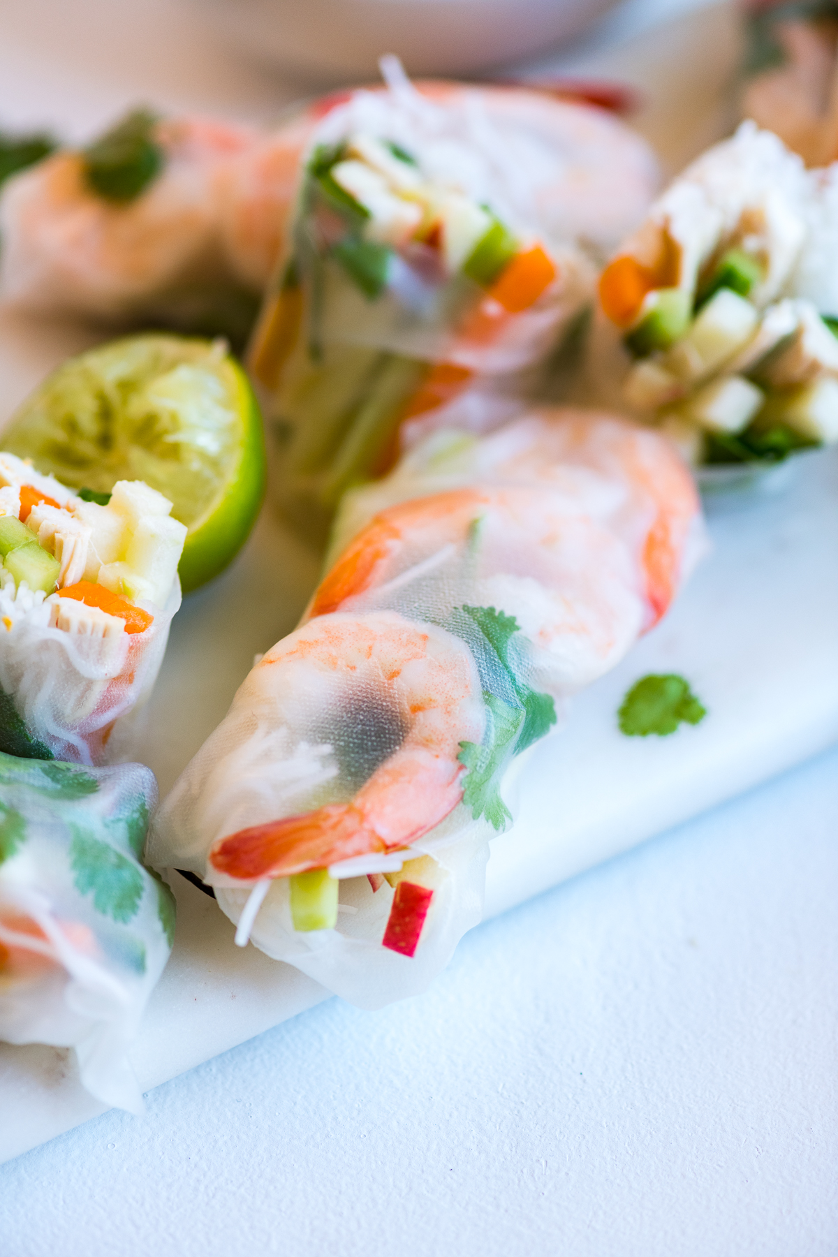 Pink Lady® Apple Summer Rolls