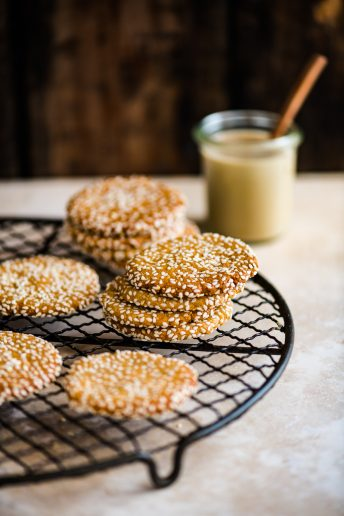 Honey and Tahini Cookies