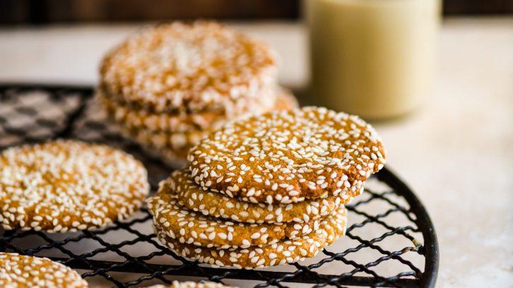 Honey and Tahini Cookies