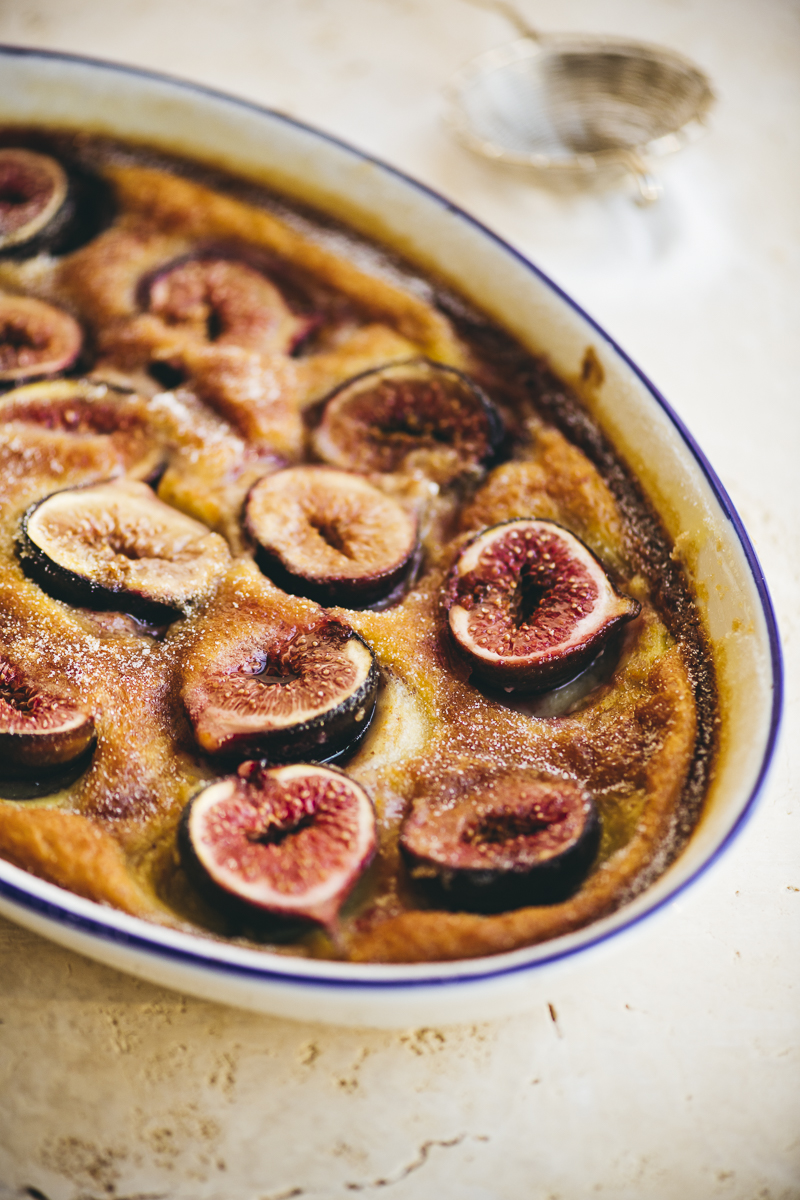 Fig and Brown Butter Clafoutis