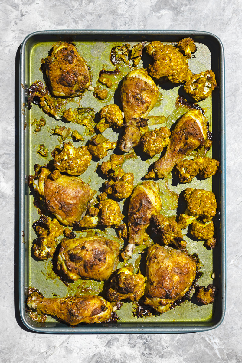 Sheet Pan Chicken Curry