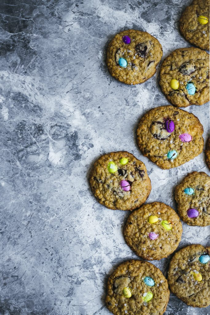 Speckled Egg Choc Chunk Oat Cookies