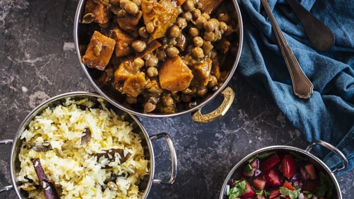 Roasted Butternut Coconut Curry