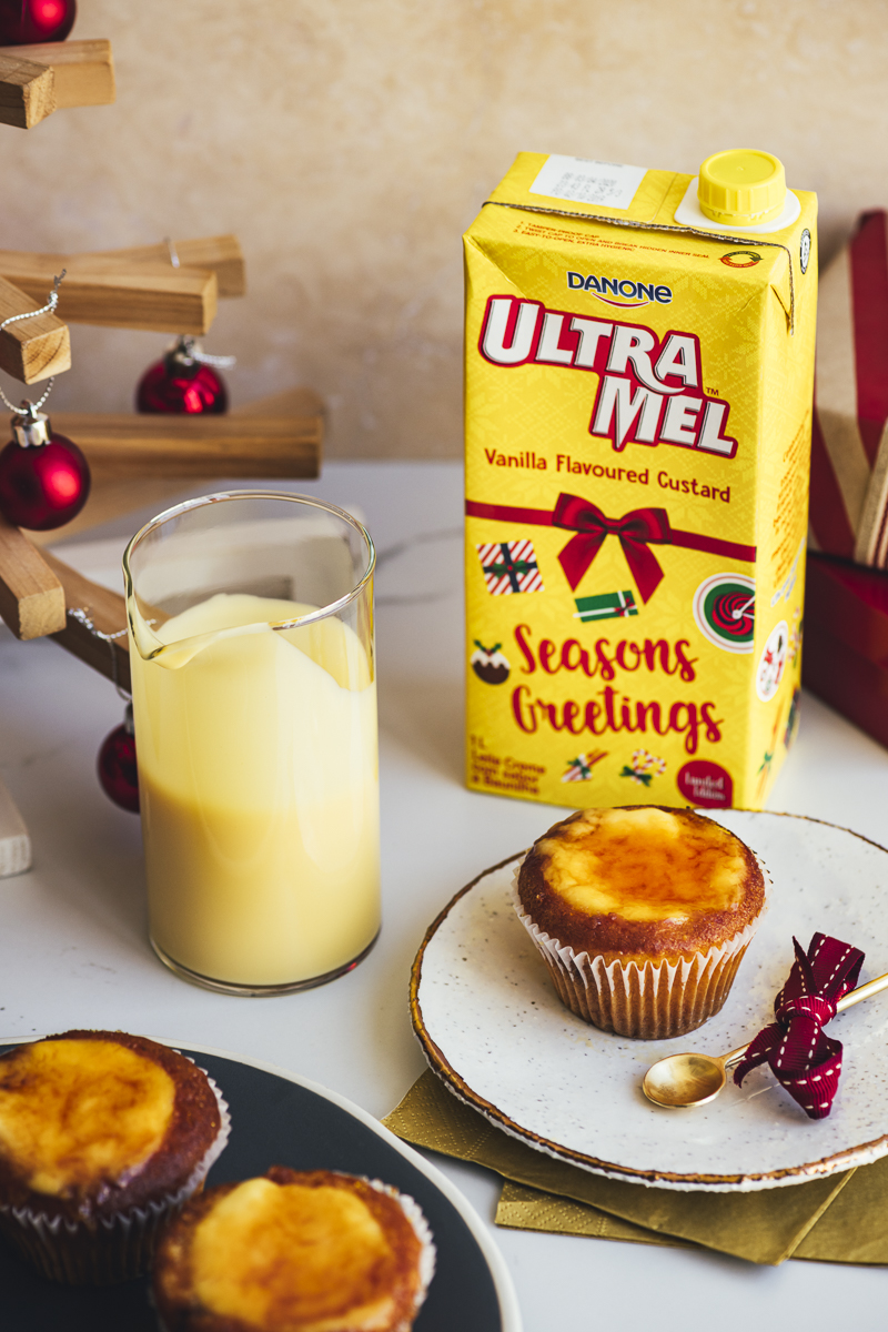 Lemon Brûlée Muffins