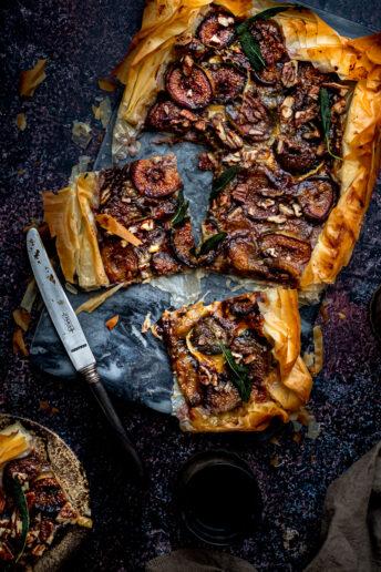 Fig and Camembert Tart